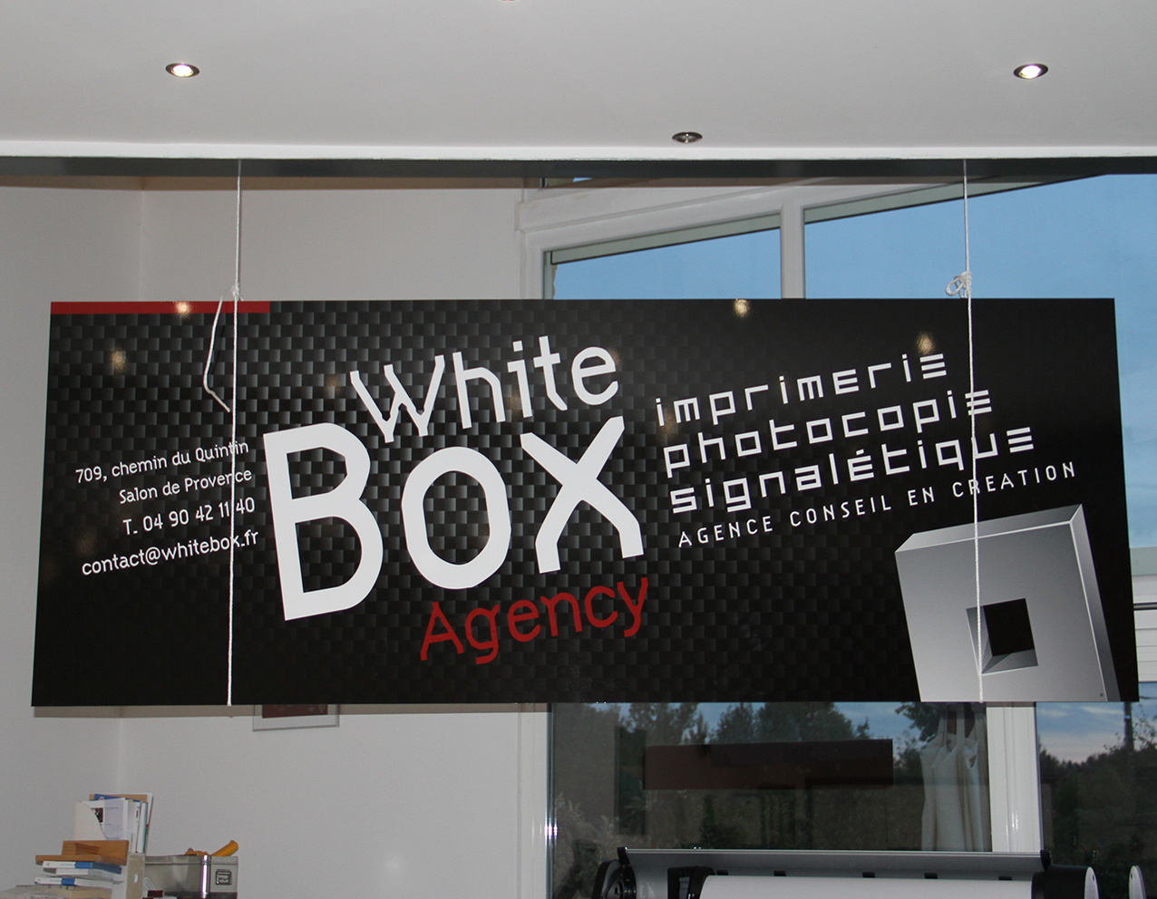 panneau white box